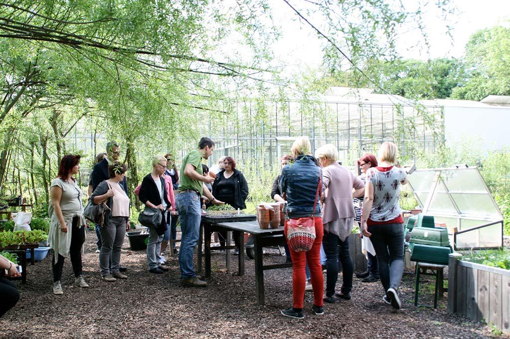 """Ausbildung zum """"Low-Energy-Lotsen"""" im Garten"""
